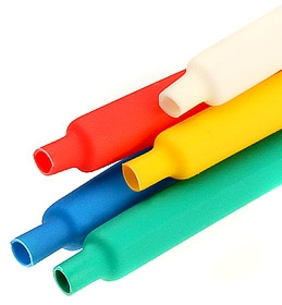 Трубка ТУТ, Цветная термоусаживаемая трубка, тут нг