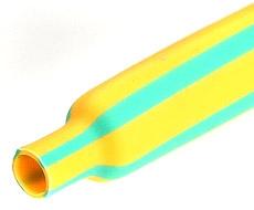 Желто-зеленая термоусаживаемая трубка