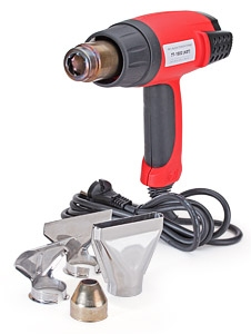 Высокотемпературный фен ТТ-1800 (КВТ) для монтажа термоусаживаемых трубок