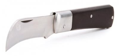Нож монтерский складной с прямым лезвием