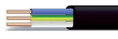 <h3>Кабель ВВГ-П нг на 0,66 и 1 кВ по ГОСТ Р 53769-2010 / ТУ 3500-016-41602515-2011<h3> Силовые кабели с медными жилами, с ПВХ изоляцией в оболочке из ПВХ пластиката пониженной горючести в плоском исполнении   КОНСТРУКЦИЯ  1. ТОКОПРОВОДЯЩАЯ ЖИЛА - медная, однопроволочная, круглой формы, 1 класса по ГОСТ 22483, номинальным сечением до 16 мм2 включительно.  2. ИЗОЛЯЦИЯ - из поливинилхлоридного пластиката (ПВХ). Изолированные жилы множильных кабелей имеют отличительную расцветку.  3. ИЗОЛИРОВАННЫЕ ЖИЛЫ -уложен