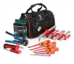 НИЭ-02 (КВТ)Набор инструмента электрика НИЭ-02 состоит из 13 предметов