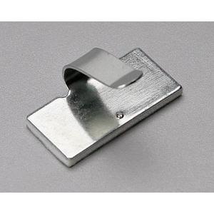 Площадки монтажные самоклеющиеся металлические ПМС-КМ с клипсой для кабеля
