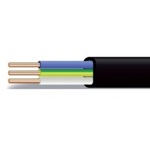 Кабель ВВГ-П на 0,66 и 1 кВ по ГОСТ Р 53769-2010 / ТУ 3500-016-41602515-2011  Силовые кабели с медными жилами, с ПВХ изоляцией в ПВХ оболочке в плоском исполнении