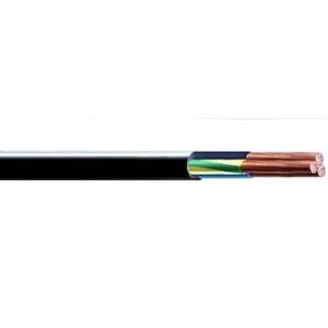 Кабель КГ купить в Минске силовой гибкий с медными жилами, с резиновой изоляцией, в резиновой оболочке.  Назначение:  Кабели силовые марки КГ предназначены для присоединения передвижных механизмов к электрическим сетям на номинальное переменное напряжение 660 В частоты до 400 Гц или постоянное напряжение 1000 В, при изгибах с радиусом не менее 8 диаметров кабеля при допустимой температуре нагрева токопроводящих жил до 75°С.