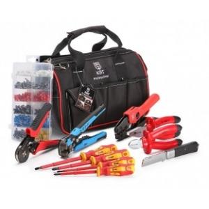 Набор инструмента электрика НИЭ-03 состоит из 12 предметов