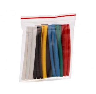Набор цветных термоусаживаемых трубок с коэффициентом усадки 2:1 Колорит