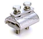 Зажимы соединительные плашечные ПЗА.Предназначен для соединения голых проводов типа А и АС, а также для повторного заземления нулевой жилы при монтаже СИП Изготовлен из высокопрочного коррозионностойкого алюминиевого сплава, устойчивого к механическим нагрузкам Двухболтовая конструкция зажима обеспечивает надежное закрепление проводов при монтаже