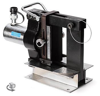 Пресс для гибки электротехнических шин на плоскость