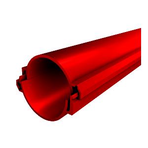 Труба ПЭ модульная (разборная)